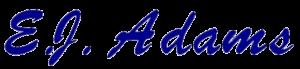 EJA cursive